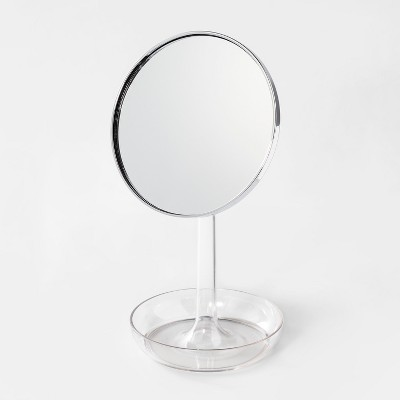 Vanity Mirror with Tray Clear - Room Essentials™