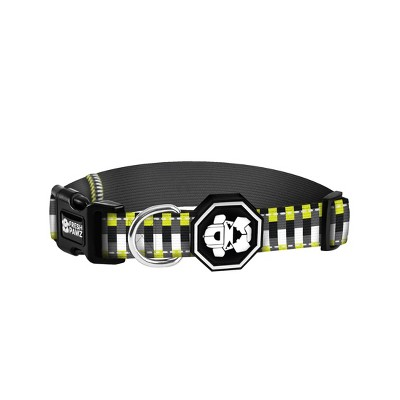 Fresh Pawz Neon Bricks Dog Collar