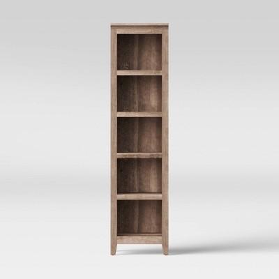 72  Carson Narrow Bookcase Light Brown - Threshold™