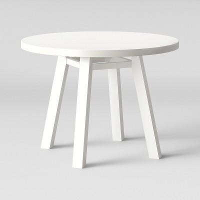Ermine Round Dining Table  White   Opalhouse