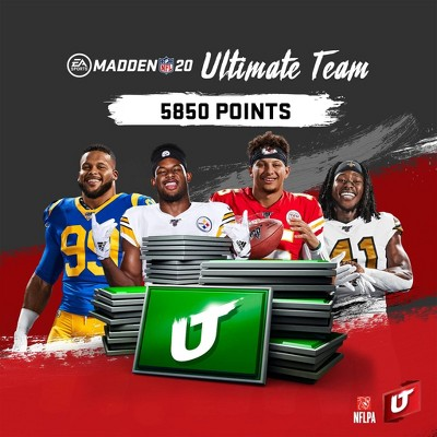 Madden NFL 20: 5850 Madden Ultimate Team Points - PlayStation 4 (Digital)