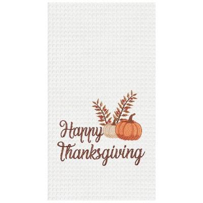 C&F Home Happy Thanksgiving Kitchen Towel
