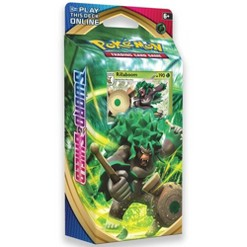 Pokemon Trading Card Game Sword & Shield S1 Theme Deck featuring Rillaboom
