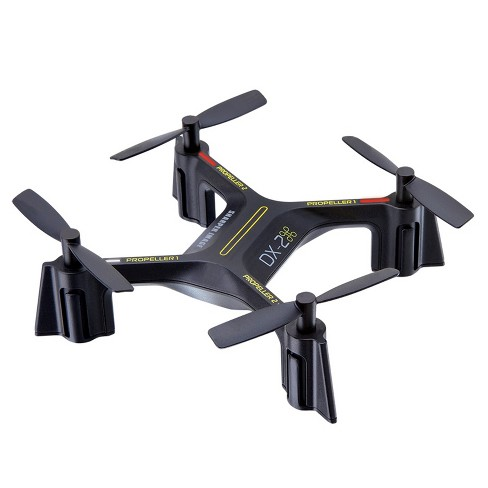 Sharper Image Dx 2 5 Rechargeable Stunt Drone 24 Ghz Black
