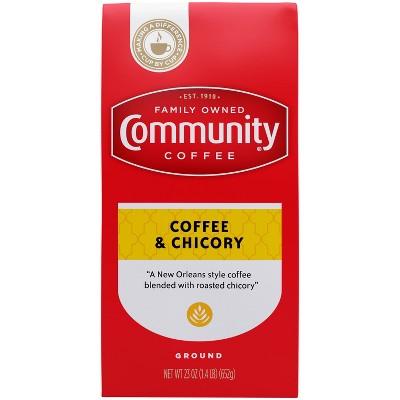 Community Coffee New Orleans Blend Dark Roast Ground Coffee - 23oz