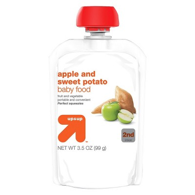 Baby Food Stage 2, Apple Sweet Potato - 3.5oz - Up&Up™