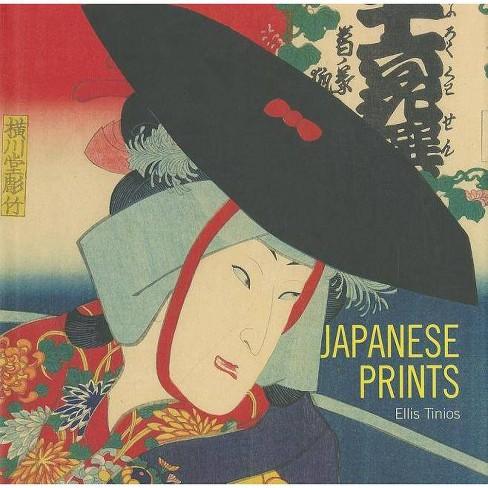 Japanese Prints - by  Ellis Tinios (Hardcover) - image 1 of 1