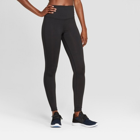 Women's Everyday High-Waisted Leggings - C9 Champion® Black - image 1 of 2
