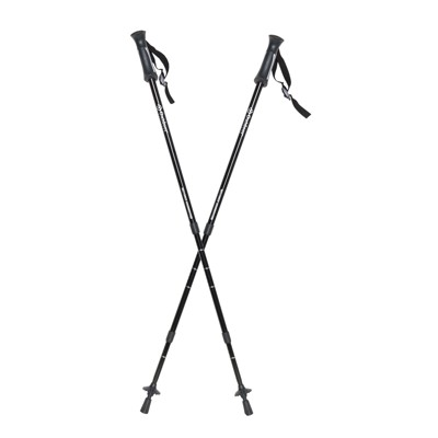 Outdoor Products Apex Trekking Pole Set - Black