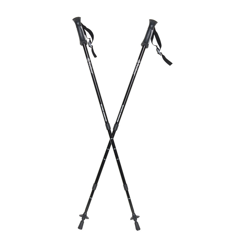 Image of Outdoor Products Apex Trekking Pole Set - Black