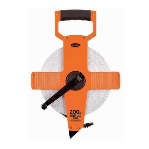 "KESON OTR-10-200 200 ft. Long Tape Measure, 1/2"" Blade, Pumpkin - image 1 of 1"