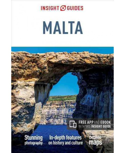 Insight Guides Malta (Paperback) - image 1 of 1
