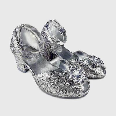 Girls' Disney Princess Mary Jane Flats - Silver - Disney Store