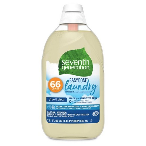 Seventh Generation Free & Clear Ultra-Concentrated 66-Loads Laundry Detergent – 23.1 fl oz - image 1 of 4