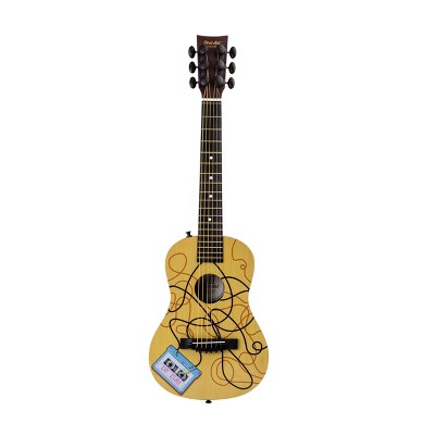 First Act Plastic Acoustic Cassette Tape Guitar