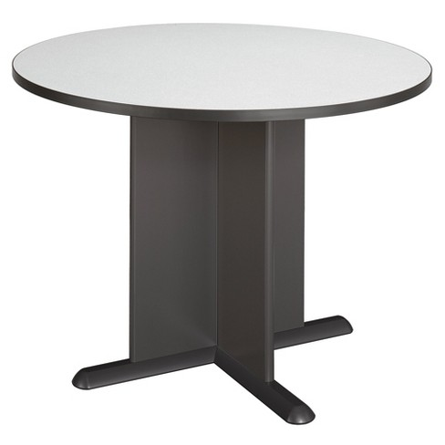 Bush A C Conference Tables Slate 42, 72 Inch Round Conference Table
