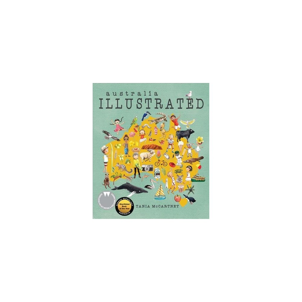 Australia illustrated - Ill Rep by Tania McCartney (School And Library)