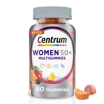 Centrum Women 50+ Multi Gummy - 80ct