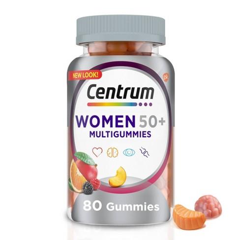 Centrum Women 50+ Multi Gummy - 80ct - image 1 of 4
