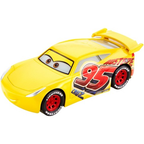Disney Pixar Cars Racetrack Talkers Vehicle Rust-Eze Cruz Ramirez - image 1 of 9