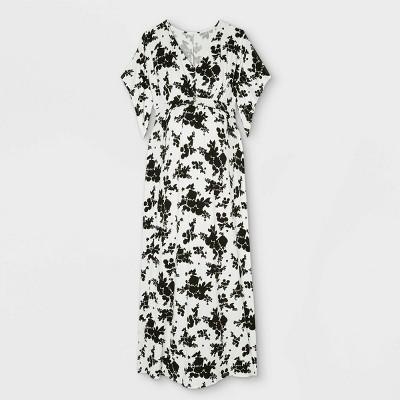 Duster Short Sleeve Knit Maternity Dress - Isabel Maternity by Ingrid & Isabel™