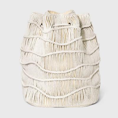 Drawstring Closure Soft Sling Bucket Bag - Universal Thread™