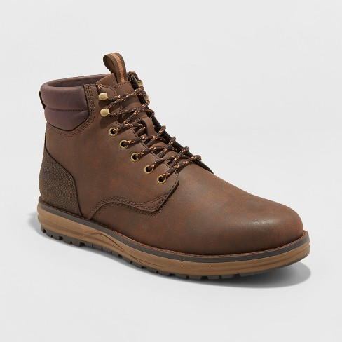 Men's Benjamin Casual Fashion Boots - Goodfellow & Co™ Brown - image 1 of 3