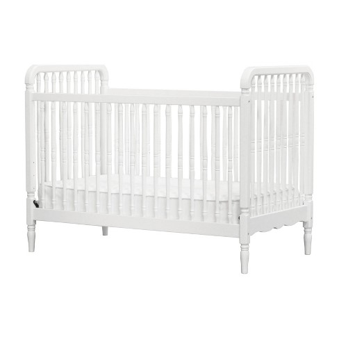Million Dollar Baby Classic Liberty 3-in-1 Convertible Spindle Crib with Toddler Rail - White - image 1 of 4