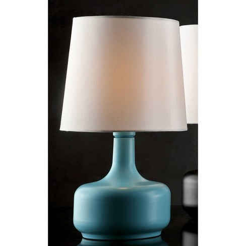 Cheru Powder Touch Table Lamp Blue Only Ore International Target