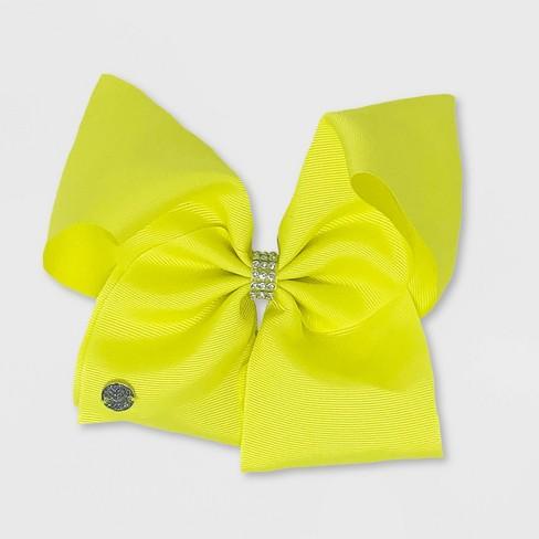 Girls' JoJo Siwa Pastel Bow - Yellow - image 1 of 1