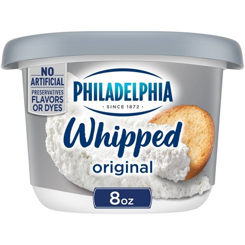 Philadelphia Whipped Cream Cheese Tub - 8oz - image 1 of 4