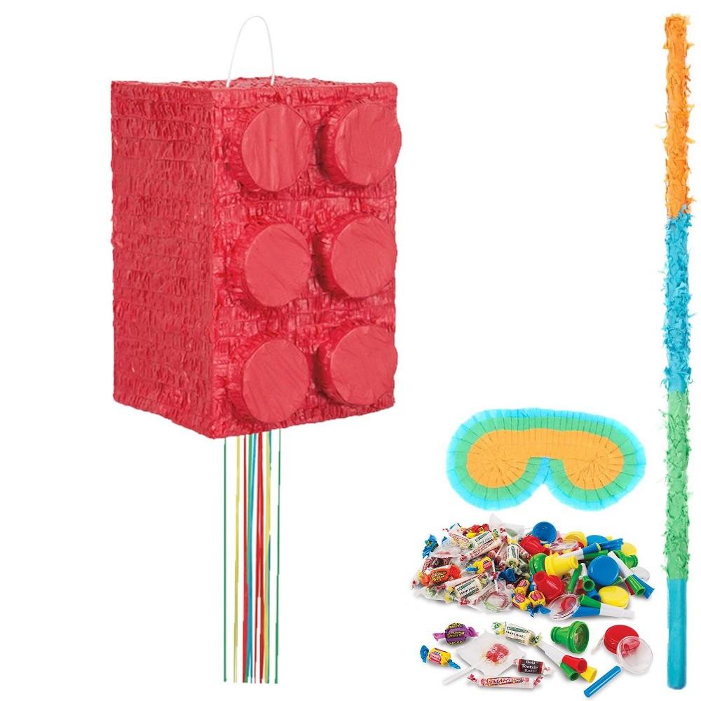 Lego Block Party Pinata Kit, Multi-Colored