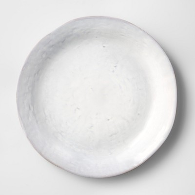 Cravings by Chrissy Teigen 11.25  Stoneware Dinner Plate White