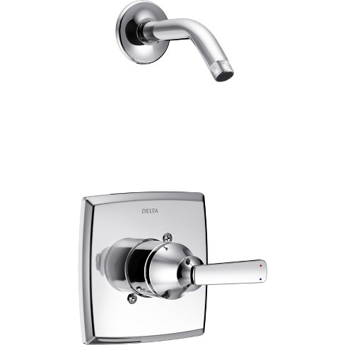 Delta Faucet T14264-LHD Ashlyn Monitor 14 Series Single Function Pressure Balanced Shower Trim Package - Shower Head and Rough-In Valve Sold - image 1 of 1