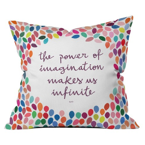 Imagination Throw Pillow - Deny Designs - image 1 of 1