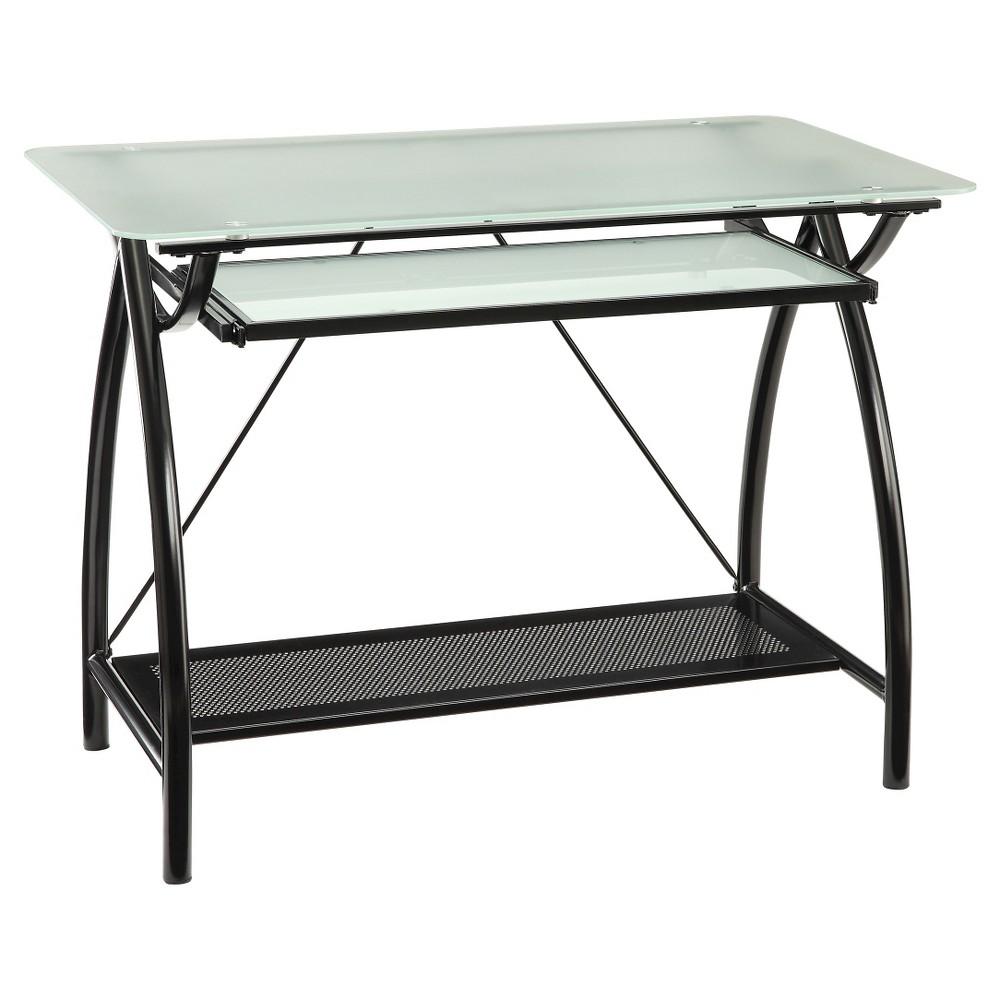 Newport Computer Desk - Osp Home Furnishings, Black