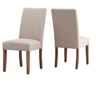 Walton Park Parsons Dining Chair (Set Of 2)   Oatmeal   Inspire Q by Inspire Q