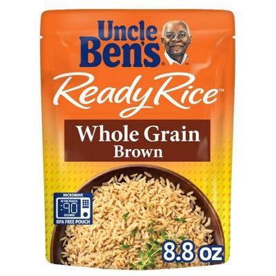 Uncle Ben's Ready Rice Whole Grain Brown - 8.8oz
