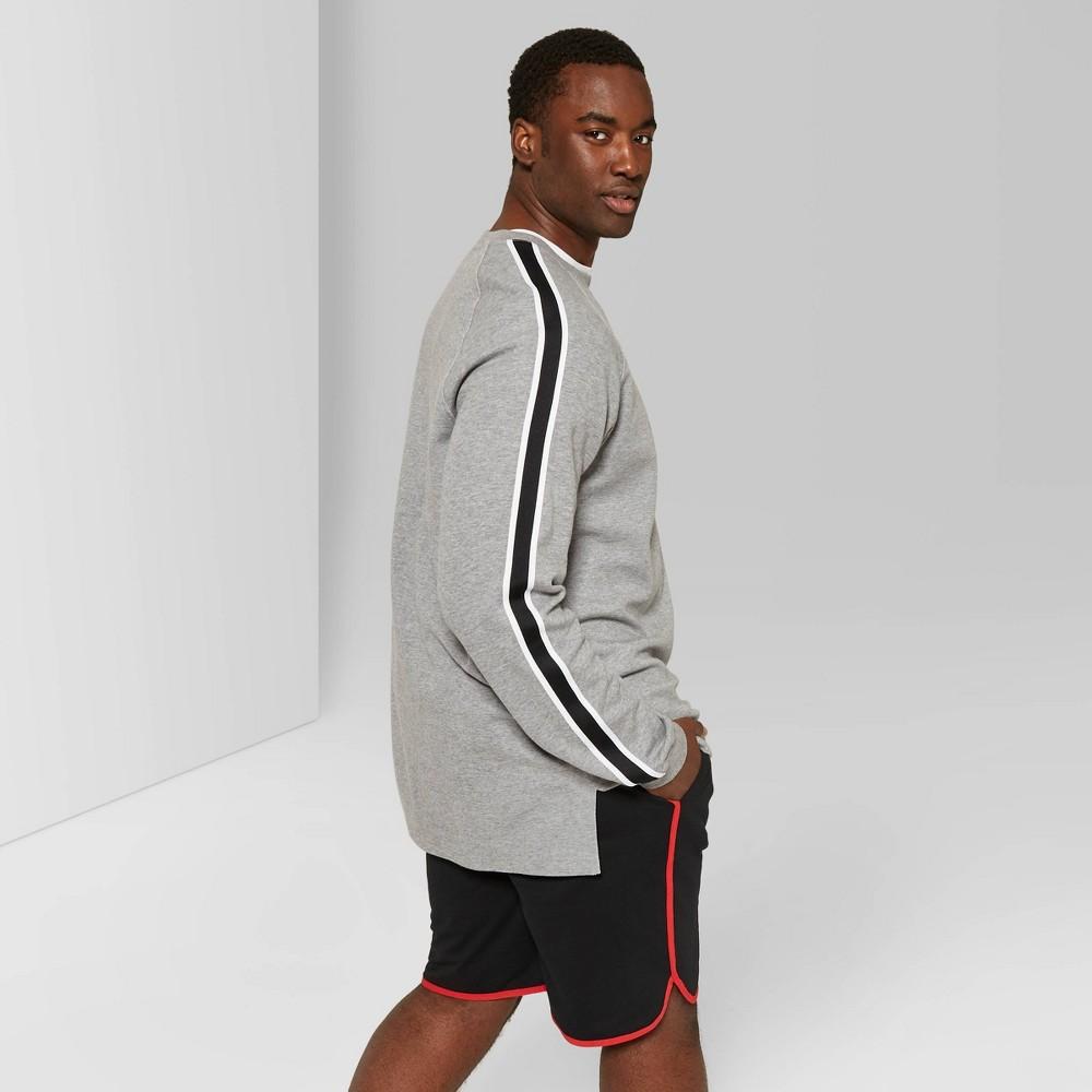 Best Discount Men Big Tall 9 High Rise Jogger Shorts Original Use Black 2XBT