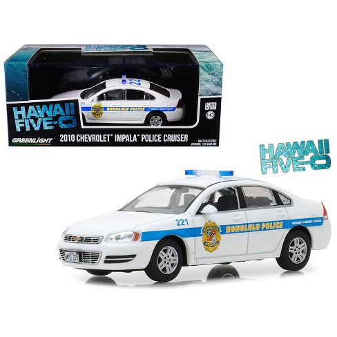2010 Chevrolet Impala Honolulu Police Cruiser from Hawaii Five-0 2010 TV  Series 1/43 Diecast Car by Greenlight