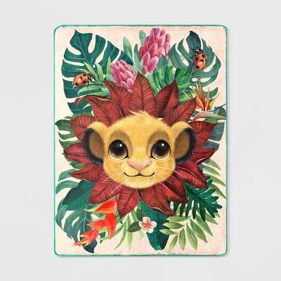 "46""x60"" The Lion King Simba Throw"