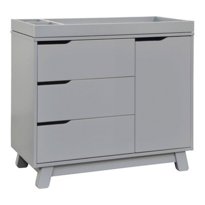 Babyletto Hudson 3 Drawer Changer Dresser - Gray