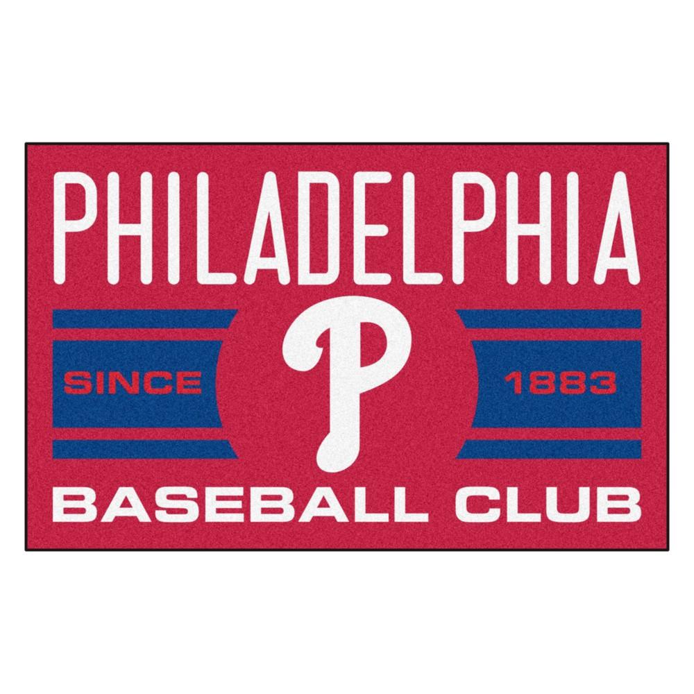 MLB Philadelphia Phillies Baseball Club Starter Rug 19