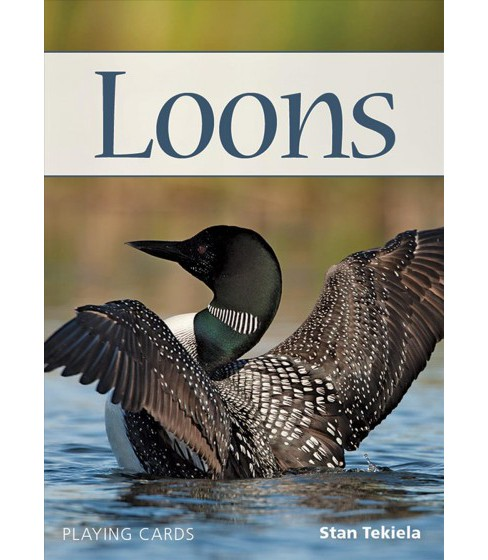 Loons Playing Cards -  (Nature's Wild Cards) by Stan Tekiela (Paperback) - image 1 of 1