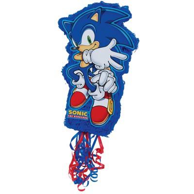 Birthday Express Sonic the Hedgehog Pull-String Pinata