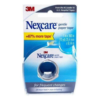 Nexcare Gentle Paper Tape Dispenser - 10yd