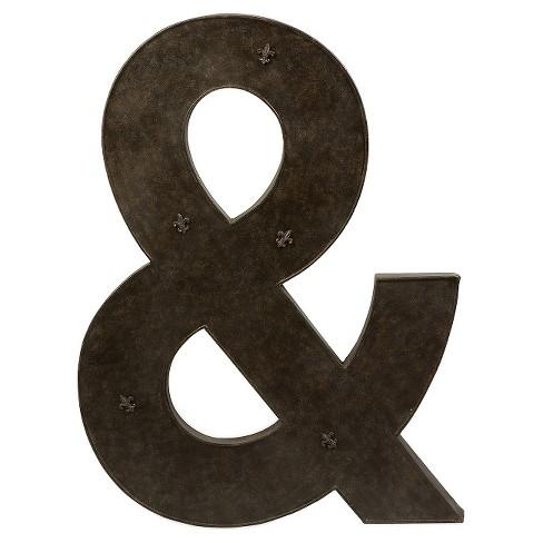 Aurora & Sign Decorative Wall Sculpture - Bronze : Target