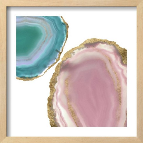 Gem Stones I by Jennifer Goldberger Framed Art Print - Art.com - image 1 of 3