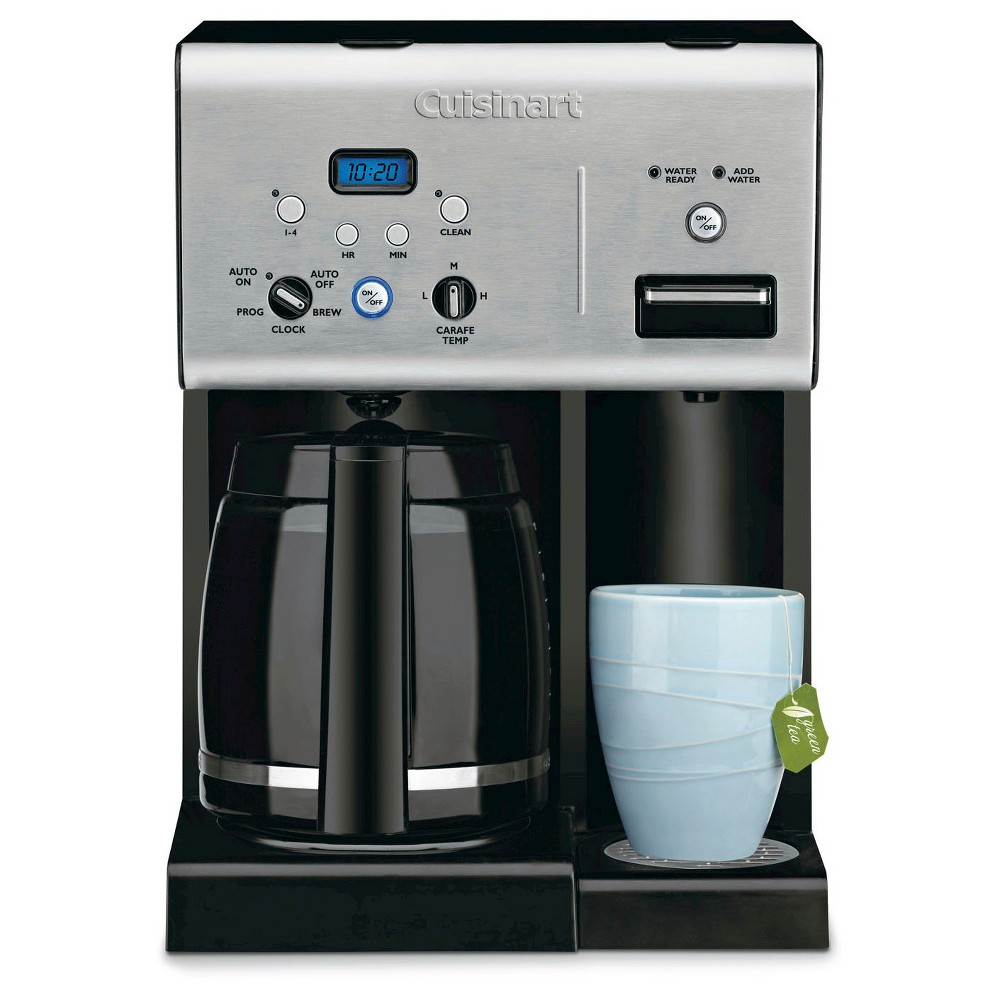 Image of Cuisinart 12 Cup Programmable Coffee Maker & Hot Water System - Stainless Steel CHW-12