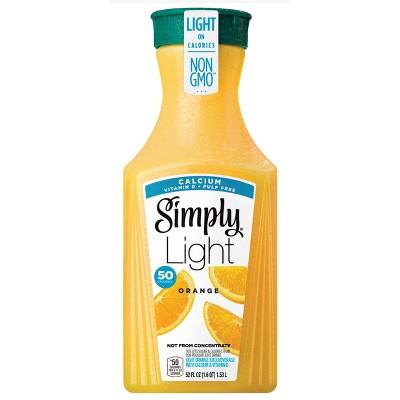 Simply Light Orange Pulp Free with Calcium & Vitamin D Juice - 52 fl oz